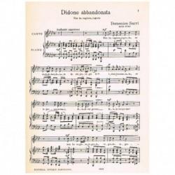 Sarri, Domenico. Non Ha Ragione, Ingrato (Didone Abbandonata) (Voz/Piano)