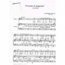 Scarlatti, Alessandro. O Cessate di Piagarmi (Voz/Piano)