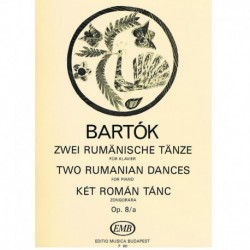 Bartok. Dos Danzas Rumanas...