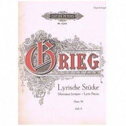 Grieg. Piezas Liricas Op.38...