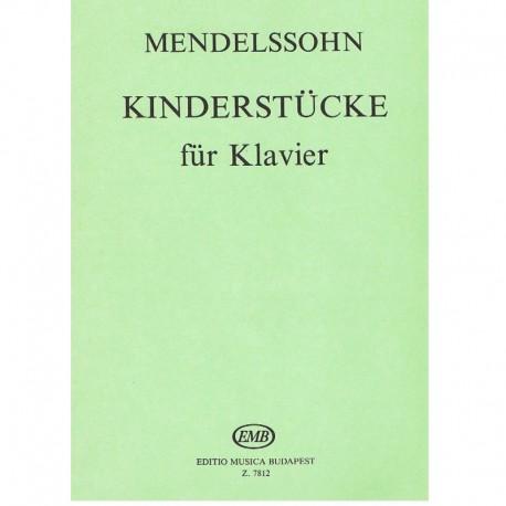 Mendelssohn. Pieza para Ni�os Op.72