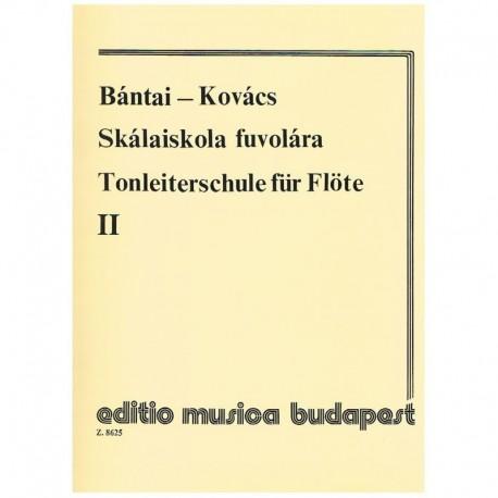 Bantai-Kovacs. Escuela de Escalas para Flauta Vol.2