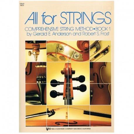 Anderson/Frost.  All for Strings Vol.1 (Violoncello)