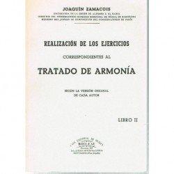 Zamacois. Tratado de Armonia II. Realización de los Ejercicios