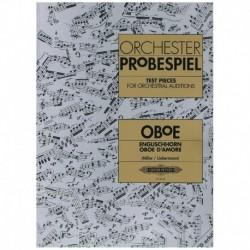 Varios. Orchester Probespiel (Oboe)