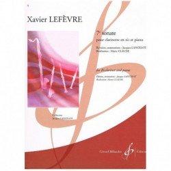 Lefevre. 7ᆰ Sonata...