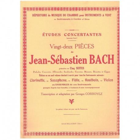 Bach,J.S. Estudios Concertantes (Clarinete)