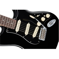 Fender Deluxe Stratocaster RW BLK