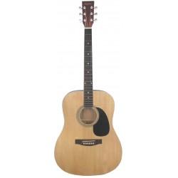 Daytona A 411 Guitarra Acustica Natural Brillo