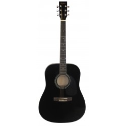 Daytona A 411 Guitarra Acustica Negro Brillo