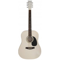 Daytona A 411 Guitarra Acustica Blanco