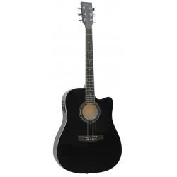 Guitarra Acustica Daytona A 411CE Negro