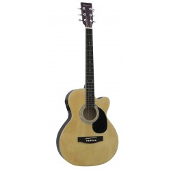Daytona A 401CE Guitarra Acustica Natural Brillo