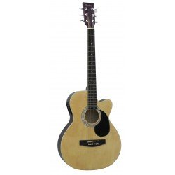 Daytona A 401CE Guitarra Acustica Natural Brillo