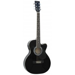 Daytona A 401CE Guitarra Acustica Negro Brillo