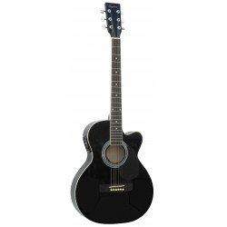 Guitarra Acústica Negro Brillo Daytona A-401CE