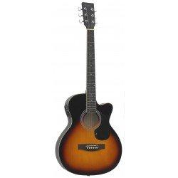 Daytona A 401CE Guitarra Acustica Sombreado Brillo
