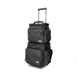 ultimate slingbag trolley set deluxe black orange inside