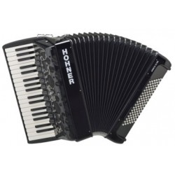 ACORDEON DE PIANO CROMATICO HOHNER AMICA IV 96 NEGRO
