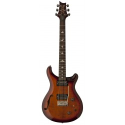 s2 custom 22 semi hollow dark cherry burst
