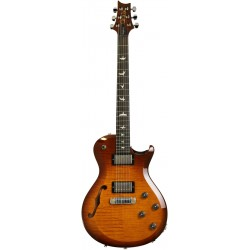 s2 singlecut semi hollow amber sunburst