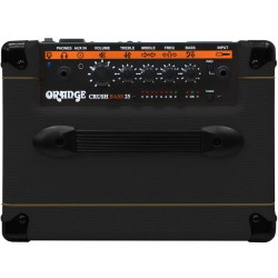 ORANGE Crush Bass 25BX Black
