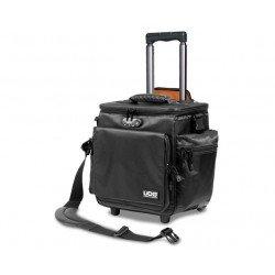 ultimate slingbag trolley deluxe black orange inside
