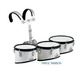 "Triple tambor marcha ""JINBAO"" 10515"