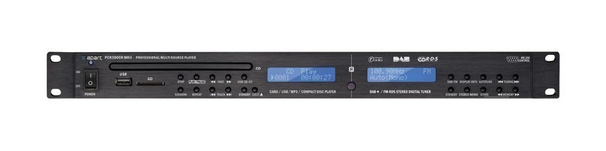 06.03 - Reproductores de CD/MP3/USB