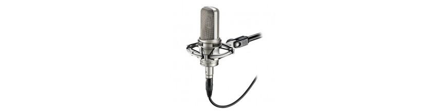 07.16 - Micrófonos para estudios de grabación