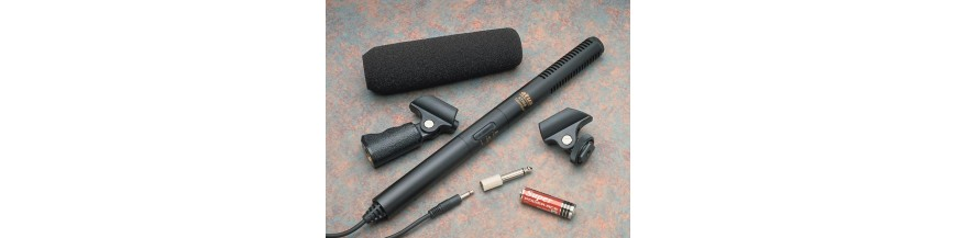 07.18 - Micrófonos tipo cañón