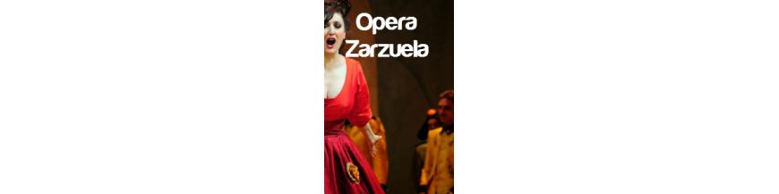 libros de Opera y Zarzuela
