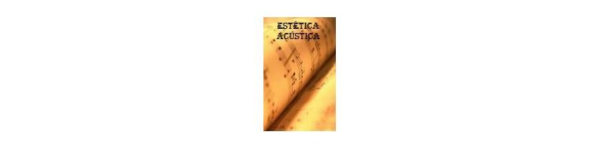 libros y métodos de Estetica y Acústica
