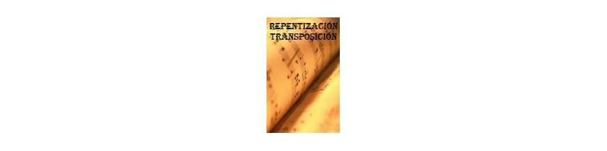 Libros y métodos de Repentización y Transposición