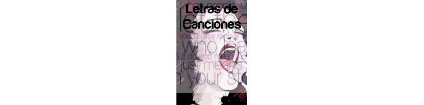 libros de letras de Canciones