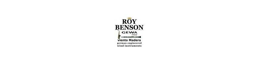 Instrumentos de Viento Madera Roy Benson