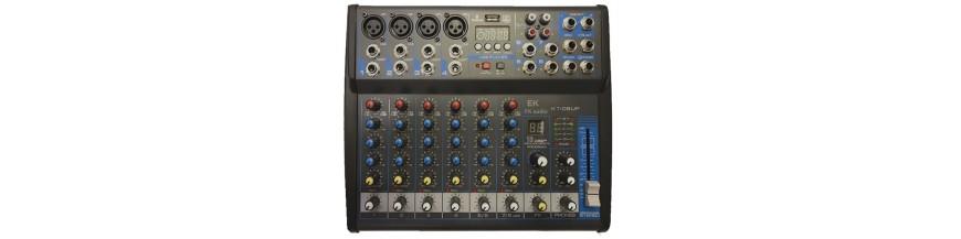 EK AUDIO (Mesa de mezclas)
