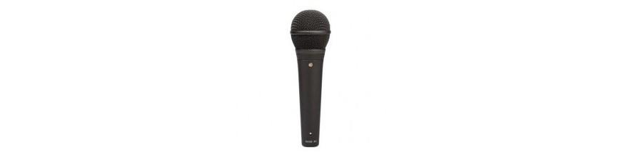 Micrófonos LIVE